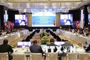 APPF-26 tiếp tục thảo luận các vấn đề hợp tác phát triển trong khu vực