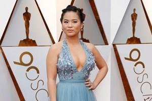 [Video] Nữ diễn viên gốc Việt rạng rỡ trên thảm đỏ Oscar 2018
