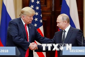 Tổng thống Nga mời người đồng cấp Mỹ Donald Trump đến Moskva