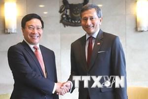 Việt Nam-Singapore nhất trí triển khai hiệu quả thỏa thuận cấp cao