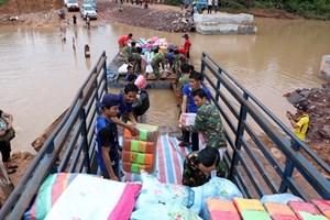 [Video] Lào cam kết điều tra toàn diện sự cố vỡ đập thủy điện