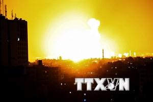 Israel không kích dải Gaza khiến 2 mẹ con người Palestine thiệt mạng