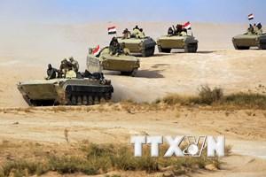 Quân đội Iraq tấn công nơi ẩn náu của IS, tiêu diệt nhiều phiến quân