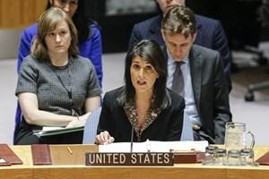Mỹ sẵn sàng cho kế hoạch hòa bình giải quyết xung đột Israel-Palestine