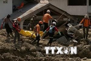 Những nỗ lực cuối cùng tìm kiếm nạn nhân động đất ở Indonesia