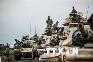 Thổ Nhĩ Kỳ pháo kích khu người Kurd ở Syria, tiêu diệt 4 phiến quân