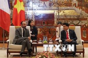 Hà Nội muốn hợp tác với đối tác Pháp xây dựng Chính phủ điện tử
