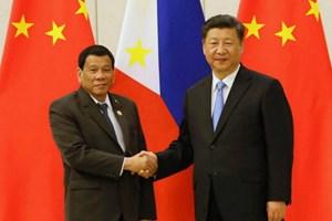 Chủ tịch Trung Quốc kêu gọi Philippines tăng đối thoại về Biển Đông