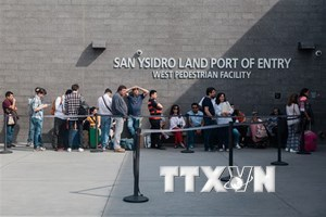 Mỹ đưa người vượt biên trở lại Mexico khi chờ xử lý đơn tị nạn