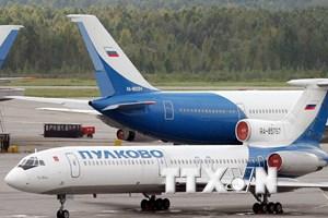 Nga ra lệnh dừng toàn bộ các chuyến bay của dòng máy bay Tu-154