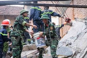 Đề xuất khởi tố vụ án sau sự cố sập tòa nhà 43 Cửa Bắc