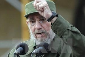 """[Video] """"Chúng tôi luôn ngưỡng mộ và sẽ đi theo con đường của Fidel"""""""