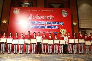 Vận động viên Việt Nam dự Olympic 2016 mong có chế độ đãi ngộ tốt hơn
