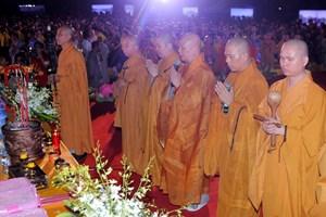 Đại lễ cầu siêu cầu quốc thái dân an và hòa bình thế giới