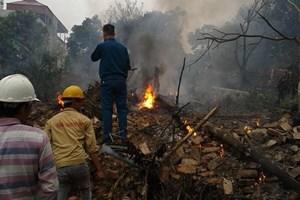Thêm 1 quân nhân trong vụ máy bay rơi tại Hòa Lạc hy sinh