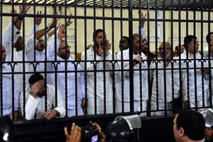 Ai Cập kết án tù hơn 450 người ủng hộ cựu Tổng thống Morsi