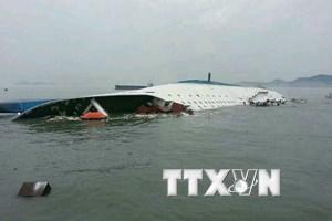 Hàn Quốc bắt đầu triển khai trục vớt phà chở khách Sewol