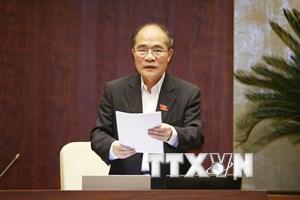 Ông Nguyễn Sinh Hùng được bầu làm Chủ tịch Hội đồng bầu cử