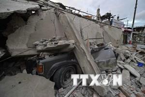 Tiếp tục động đất mạnh 6,2 độ Richter ngoài khơi Ecuador