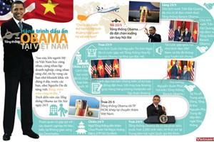 Hành trình dấu ấn của Tổng thống Hoa Kỳ Obama tại Việt Nam