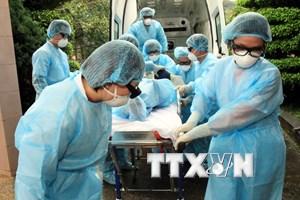 Diễn tập phòng, chống H7N9 và cúm gia cầm động lực cao lây sang người