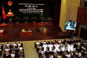 HĐND Thành phố Hồ Chí Minh họp bất thường về môi trường thành phố