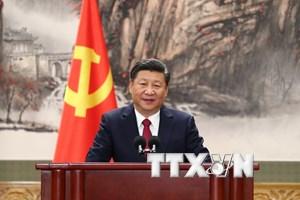 Tổng thống Hàn Quốc chúc mừng Tổng Bí thư Đảng Cộng sản Trung Quốc