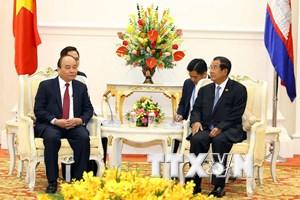 Đẩy mạnh phân giới cắm mốc biên giới đất liền Việt Nam-Campuchia