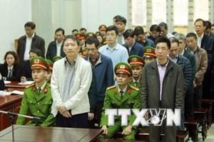 Xét xử Trịnh Xuân Thanh: Nguyên Phó Chủ tịch HĐQT PVC kháng cáo