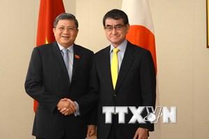 Việt Nam-Nhật Bản tăng cường hợp tác nghị viện và thúc đẩy CPTPP
