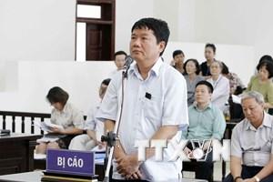 Vụ PVN mất 800 tỷ đồng: Bị cáo Đinh La Thăng trình bày lý do kháng cáo