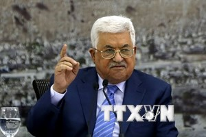 Tổng thống Palestine: Mỹ đang phá hoại tiến trình hòa bình Trung Đông