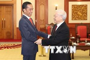Việt Nam nhất quán coi trọng tăng cường quan hệ hợp tác với Indonesia