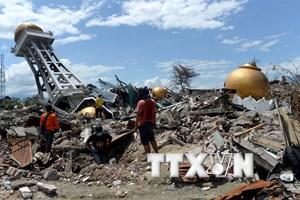 Tiếp tục xảy ra động đất tại Indonesia, không có cảnh báo sóng thần