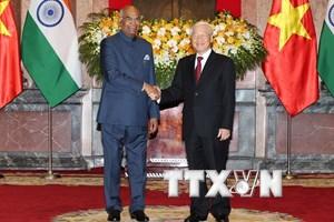 Quốc phòng an ninh là hợp tác chiến lược giữa Việt Nam và Ấn Độ