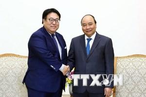 Thủ tướng Nguyễn Xuân Phúc tiếp lãnh đạo các Công ty Mitsui và Honda