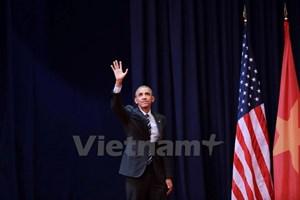 Tổng thống Obama nói lời cuối cùng gì trước khi rời Việt Nam?