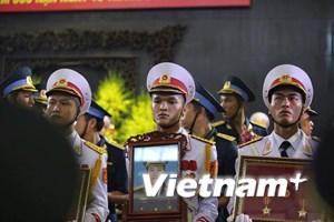 Rơi nước mắt trong lễ truy điệu 9 liệt sỹ phi hành đoàn CASA-212