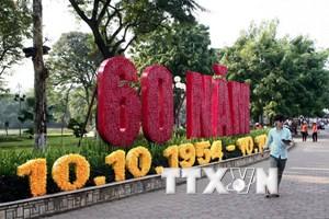 [Video] Hà Nội hân hoan đón mừng 60 năm ngày Giải phóng