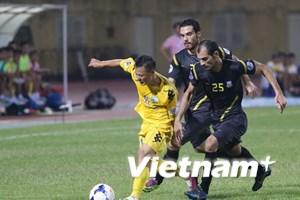 Hà Nội T&T thất bại toàn diện trước đội bóng Iraq