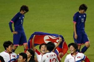 Quật ngã Nhật Bản, CHDCND Triều Tiên đăng quang bóng đá nữ