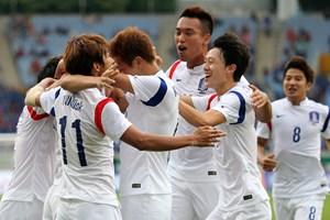 Bàn thắng ở phút 120+1 mang về huy chương vàng cho Hàn Quốc