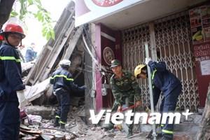 Vụ sập nhà ở Cửa Bắc: Đã xác định được nguyên nhân ban đầu