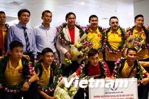 VFF đón tuyển Futsal Việt Nam bằng món tiền thưởng 1,5 tỷ đồng