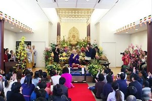 Người Việt tại Nhật đón Tết nhân lễ cầu an