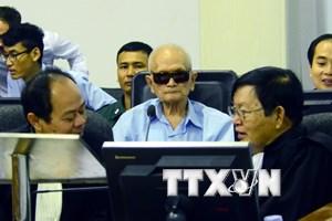 Luật sư của thủ lĩnh Khmer Đỏ tìm cách kéo dài phiên tòa