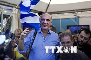 Hy Lạp bắt đầu tiến hành cuộc tổng tuyển cử trước thời hạn