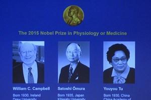 Nhà khoa học Ireland, Nhật, Trung Quốc nhận giải Nobel Y học