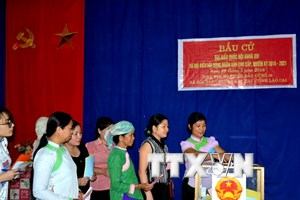 Lào Cai bầu đủ 56 đại biểu Hội đồng nhân dân cấp tỉnh