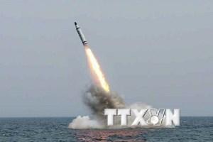 Mỹ: Tên lửa của Triều Tiên đã rơi xuống biển Nhật Bản